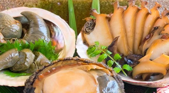 あわびの煮貝の写真