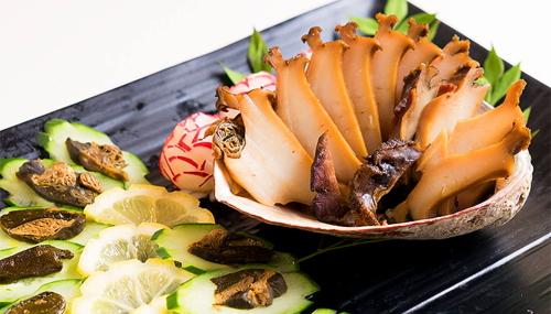 あわびの煮貝(調理一例)